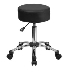 Medical Ergonomic Stool with Chrome Base - YourBarStoolStore + Chairs, Tables and Outdoor