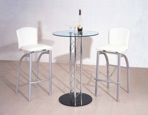 Creative Images S3030 White Bar Stool