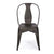 Bronze Metal Stacking Dining Chairs (Set of 2) - YourBarStoolStore + Chairs, Tables and Outdoor  - 2