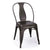Bronze Metal Stacking Dining Chairs (Set of 2) - YourBarStoolStore + Chairs, Tables and Outdoor  - 3