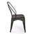 Bronze Metal Stacking Dining Chairs (Set of 2) - YourBarStoolStore + Chairs, Tables and Outdoor  - 4