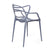 Designer Abstract Stacking Dining Chairs (Grey) - Set of 2 - YourBarStoolStore + Chairs, Tables and Outdoor  - 3