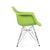Green Charles & Ray Eames Modern Dining Chairs / Armchairs with Birch Wood Legs (Set of Two) - YourBarStoolStore + Chairs, Tables and Outdoor  - 5