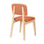 Bentwood Dining Chair with Orange Linen Back Support & Seat - YourBarStoolStore + Chairs, Tables and Outdoor  - 4