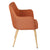 Orange Fabric Armchair - YourBarStoolStore + Chairs, Tables and Outdoor  - 4