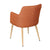 Orange Fabric Armchair - YourBarStoolStore + Chairs, Tables and Outdoor  - 5