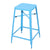 Blue 26-inch Metal Counter Stools (Set of Two) - YourBarStoolStore + Chairs, Tables and Outdoor  - 5