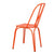 Orange Metal Chair (Set Of Two) - YourBarStoolStore + Chairs, Tables and Outdoor  - 5