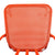Orange Metal Chair (Set Of Two) - YourBarStoolStore + Chairs, Tables and Outdoor  - 3