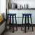 Blue Industrial Metal Bar Stool - YourBarStoolStore + Chairs, Tables and Outdoor  - 2