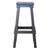 Blue Industrial Metal Bar Stool - YourBarStoolStore + Chairs, Tables and Outdoor  - 3