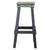 Green Industrial Metal Bar Stool - YourBarStoolStore + Chairs, Tables and Outdoor  - 3