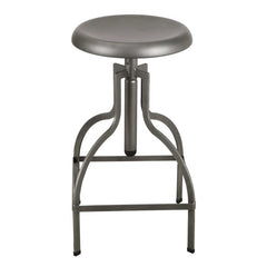 Adjustable Logan Metal Stool - YourBarStoolStore + Chairs, Tables and Outdoor  - 1