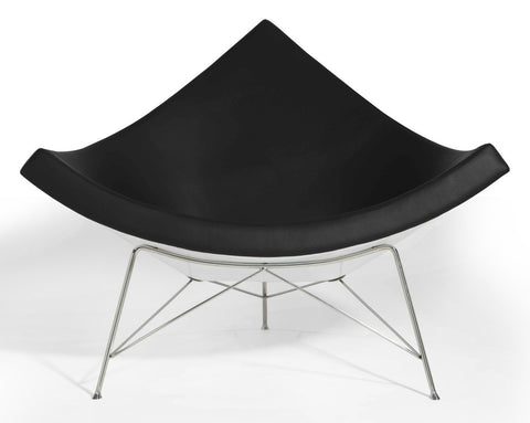 Aeon Palm Chair CH7143-WtGloss/Black