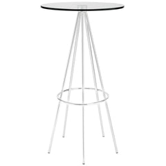 Sync Bar Table Clear - YourBarStoolStore + Chairs, Tables and Outdoor