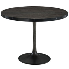 Drive Wood Top Dining Table Black - YourBarStoolStore + Chairs, Tables and Outdoor