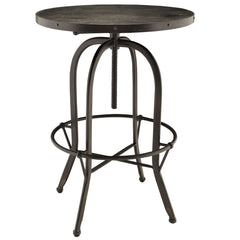 Sylvan Wood Top Bar Table Black - YourBarStoolStore + Chairs, Tables and Outdoor