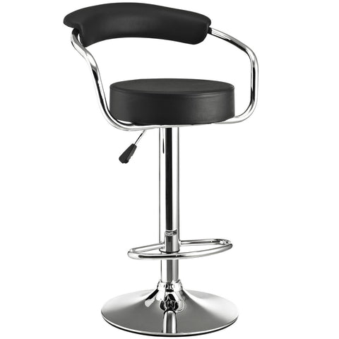 Diner Bar Stool Black