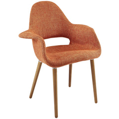 Aegis Dining Armchair Orange - YourBarStoolStore + Chairs, Tables and Outdoor
