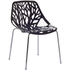 Stencil Dining Side Chair Black - YourBarStoolStore + Chairs, Tables and Outdoor