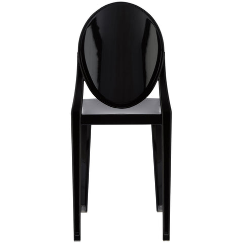 Burton Side Chair In Black (Set of 2) EM-102-X2