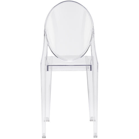 Burton Side Chair In Clear (Set of 2) EM-102-X2