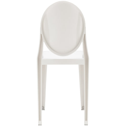 Burton Side Chair In White (Set of 2) EM-102-X2