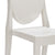 Burton Side Chair In White (Set of 2) EM-102-X2 - YourBarStoolStore + Chairs, Tables and Outdoor  - 4