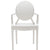 Burton Arm Chair In White (Set of 2)  EM-103-X2 - YourBarStoolStore + Chairs, Tables and Outdoor  - 5