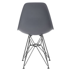 Padget Side Chair in Black / Grey (Set of 2) EM-104-BLK-X2 - YourBarStoolStore + Chairs, Tables and Outdoor  - 1