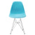 Padget Side Chair in Aqua (Set of 2) EM-104-CRM-X2 - YourBarStoolStore + Chairs, Tables and Outdoor  - 3