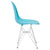 Padget Side Chair in Aqua (Set of 2) EM-104-CRM-X2 - YourBarStoolStore + Chairs, Tables and Outdoor  - 2