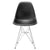 Padget Side Chair in Black (Set of 2) EM-104-CRM-X2 - YourBarStoolStore + Chairs, Tables and Outdoor  - 3