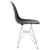 Padget Side Chair in Black (Set of 2) EM-104-CRM-X2 - YourBarStoolStore + Chairs, Tables and Outdoor  - 2