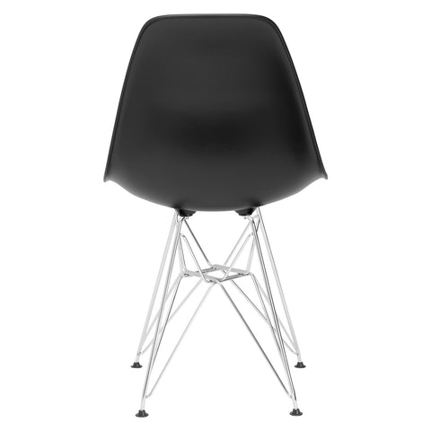 Padget Side Chair in Black (Set of 2) EM-104-CRM-X2
