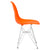 Padget Side Chair in Orange (Set of 2) EM-104-CRM-X2 - YourBarStoolStore + Chairs, Tables and Outdoor  - 2