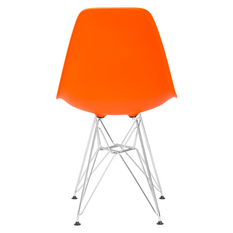 Padget Side Chair in Orange (Set of 2) EM-104-CRM-X2