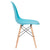 Vortex Side Chair in Aqua EM-105-NAT - YourBarStoolStore + Chairs, Tables and Outdoor  - 2