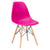 Vortex Side Chair in Fuchsia EM-105-NAT - YourBarStoolStore + Chairs, Tables and Outdoor  - 3