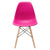 Vortex Side Chair in Fuchsia (Set of 2) EM-105-NAT-X2 - YourBarStoolStore + Chairs, Tables and Outdoor  - 2