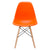 Vortex Side Chair in Orange EM-105-NAT - YourBarStoolStore + Chairs, Tables and Outdoor  - 3