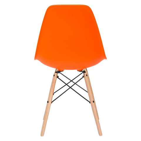 Vortex Side Chair in Orange EM-105-NAT