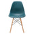 Vortex Side Chair in Teal EM-105-NAT - YourBarStoolStore + Chairs, Tables and Outdoor  - 3