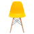 Vortex Side Chair in Yellow EM-105-NAT - YourBarStoolStore + Chairs, Tables and Outdoor  - 3