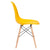 Vortex Side Chair in Yellow EM-105-NAT - YourBarStoolStore + Chairs, Tables and Outdoor  - 2