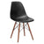Vortex Side Chair Walnut Legs in Black (Set of 2) EM-105-WAL-X2 - YourBarStoolStore + Chairs, Tables and Outdoor  - 4