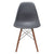 Vortex Side Chair Walnut Legs in Grey (Set of 2) EM-105-WAL-X2 - YourBarStoolStore + Chairs, Tables and Outdoor  - 3