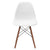 Vortex Side Chair Walnut Legs in White EM-105-WAL - YourBarStoolStore + Chairs, Tables and Outdoor  - 3