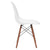 Vortex Side Chair Walnut Legs in White EM-105-WAL - YourBarStoolStore + Chairs, Tables and Outdoor  - 2