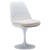 Daisy Side Chair in White EM-106 - YourBarStoolStore + Chairs, Tables and Outdoor  - 4